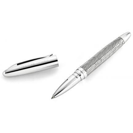 Woven Metal Pen, Engraved