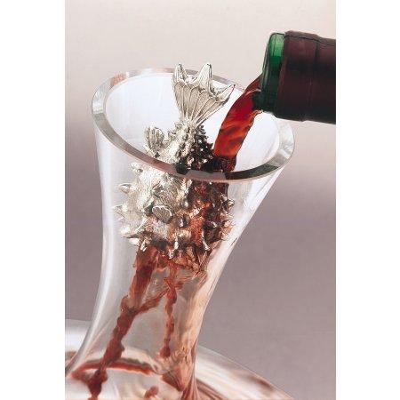 Puffer Pewter Wine Aerator