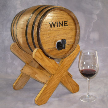 Bag-N-Barrel for Boxed Wine with Stand