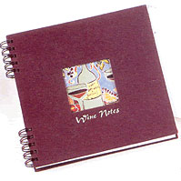 Burgundy Wine Notes Journal