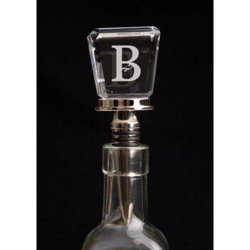 Wine Bottle Stopper Monogram (Choose any letter!)