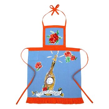 Congratulations Apron By Julia Junkin