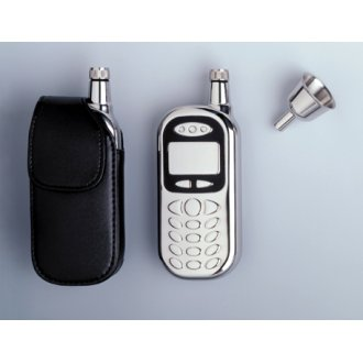 Cell Phone-Shape Pocket Flask 3 oz.