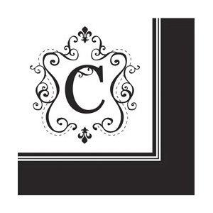 Monogram Cocktail Napkins (Choose any letter!)