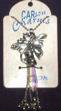 Wine Bottle Charm, Butterfly