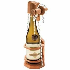 Don't Break the Bottle Corkscrew Game