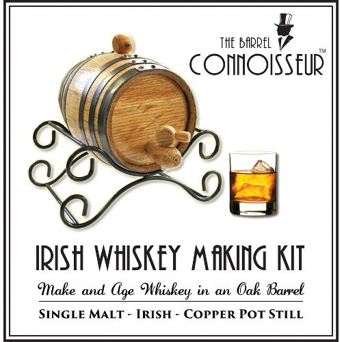 The Barrel Connoisseur Irish Whiskey Making Kit
