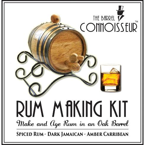 The Barrel Connoisseur Rum Making Kit
