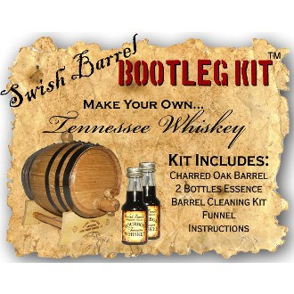 Tennessee Bourbon Whiskey Making Bootleg Kit