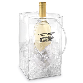 The Chiller Bottle and Ice Carriers with Company Logo (72 Pieces)