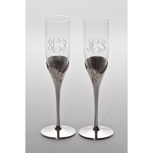 Lenox Personalized True Love Toasting Flutes (set of 2)