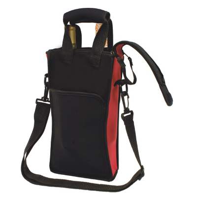 Picnic Neoprene Two Bottle Tote Bag