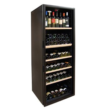 VinoCellier Series Glass Door 267 Bottle Wine Cabinet Cellar