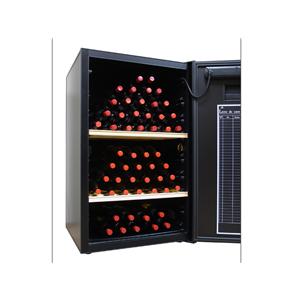 VinoCellier Solid Door 150 Bottle Wine Cabinet