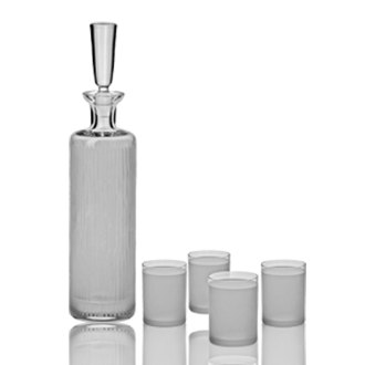 Vodka Decanter Set of 5