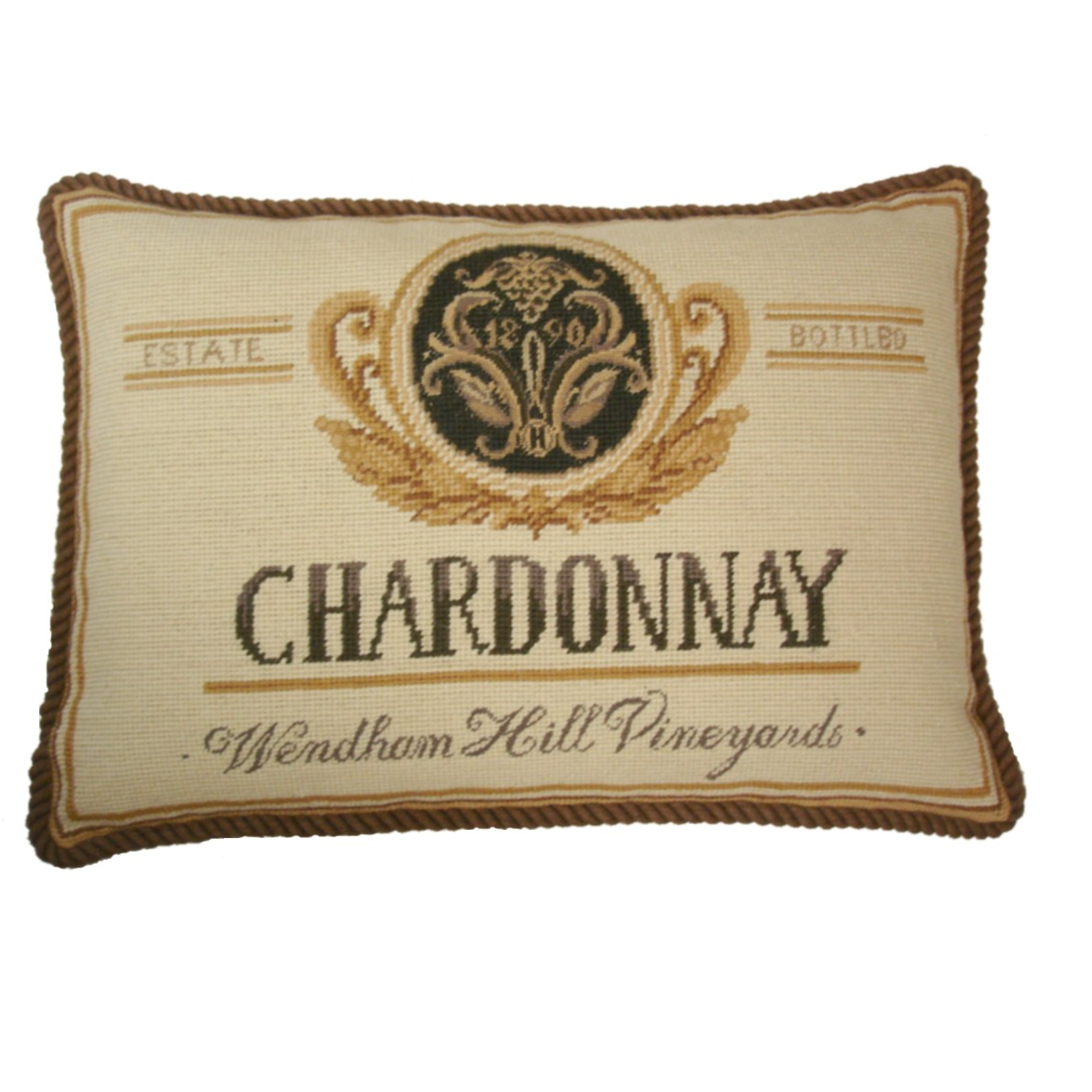 """Wendham Hill Vineyard"" Pillow"