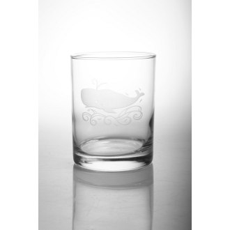 Whale On The Rocks Glasses (set of 4)