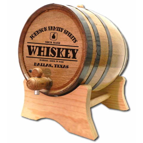 Whiskey Still Make Your Own Spirits Personalized Oak Barrel