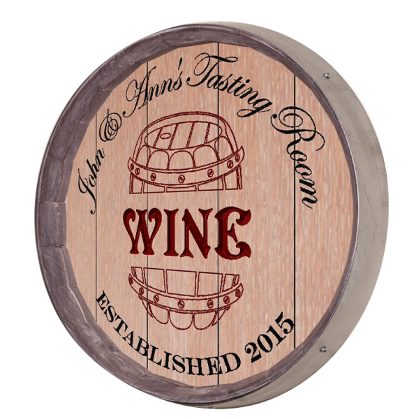 Personalized Wine Carving Sign