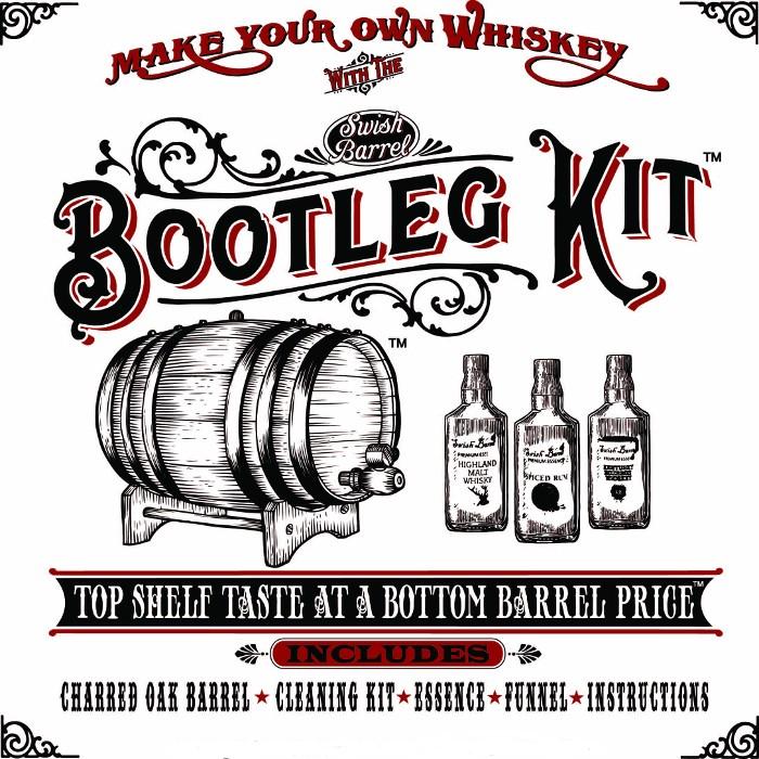 American Smoked Whiskey Making Bootleg Kit