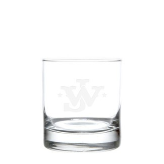 Etched John Wayne DOF 11 Ounce Glasses (set of 4)