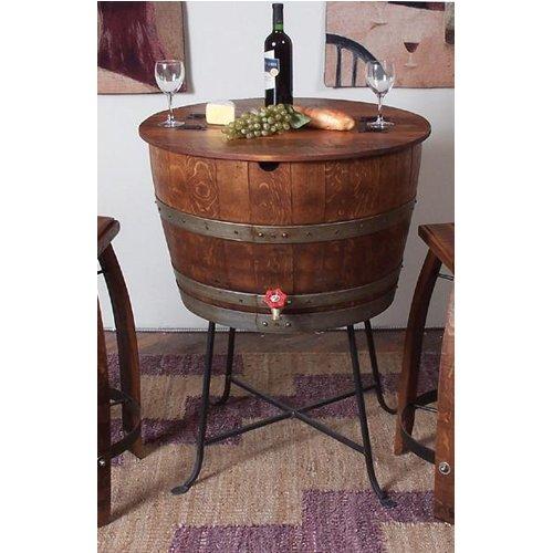 Vintage Oak Party Chiller