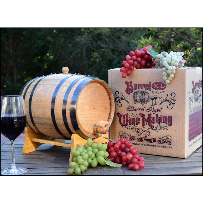 Barrel XL Barrel Aged Cabernet Wine Making Kit