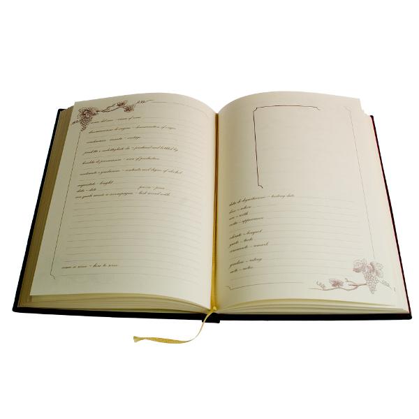 Wine Journal Book Padua Style
