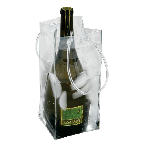 Ice Bag Collapsible Wine Cooler w/ Company Logo (set of 72)