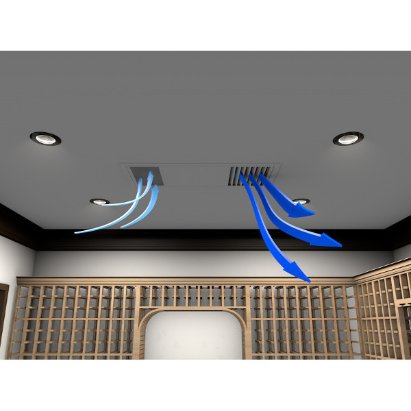 WhisperKool Ceiling Mount 8000 Wine Cellar Cooler