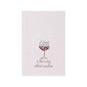 Wine is Sunshine Kitchen Towel