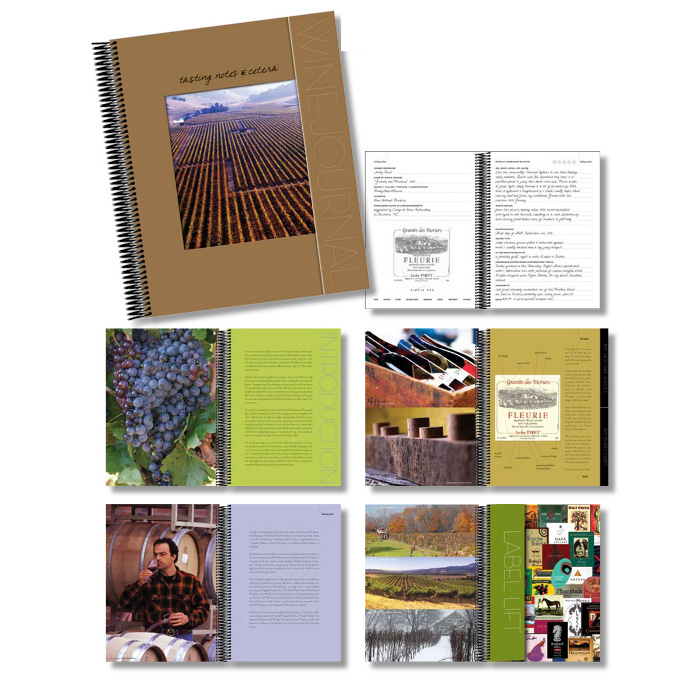 Wine Label Journal with 10 Label Lift Removers