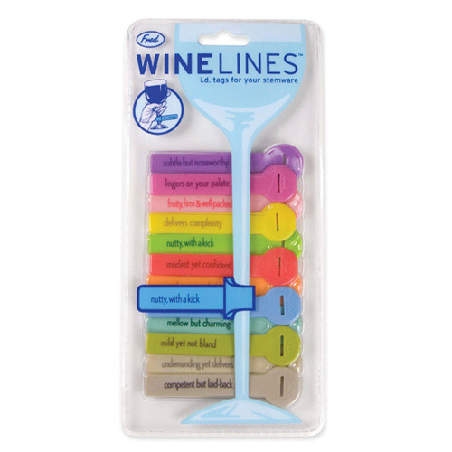 Wine Lines Rubber Charms