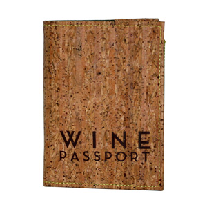 Wine Passport Journal with Cork Cover