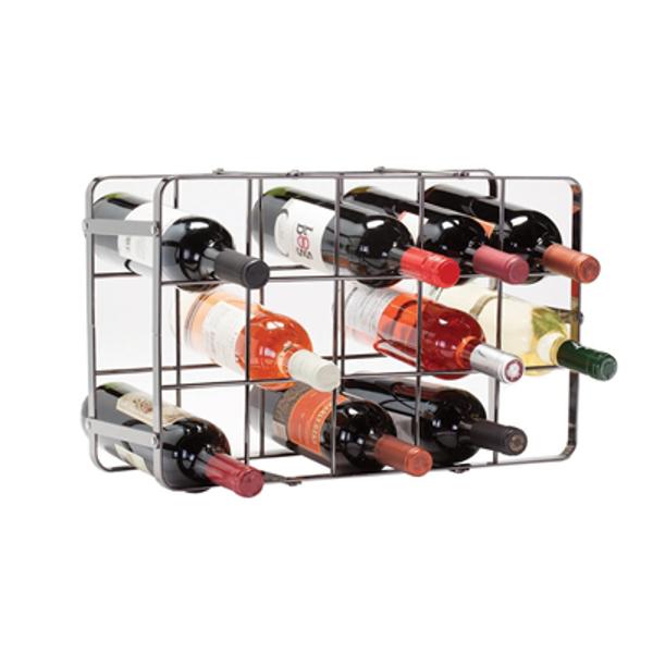 Black Pearl Wine Rack