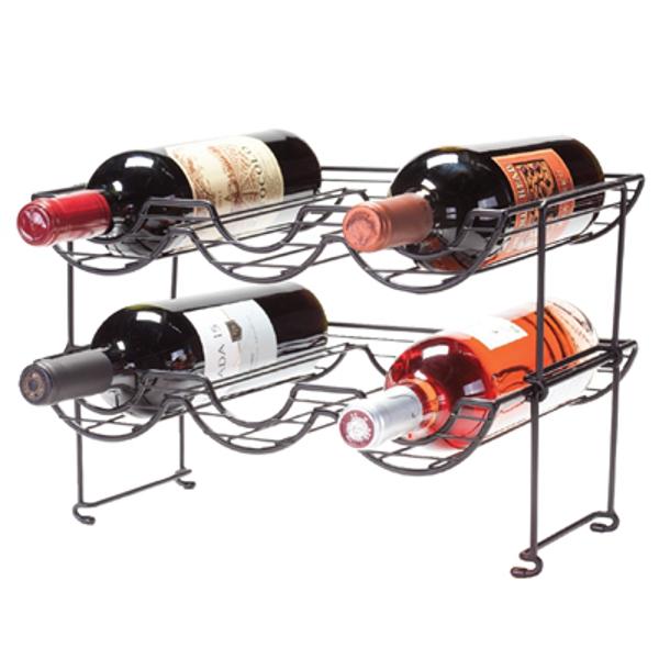 Halfpipe Stackable 6 Bottle Wine Racks