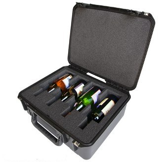 4 Bottle Wine Luggage Carrier by WineCruzer