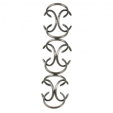 Interlock Horseshoe Wine Holder