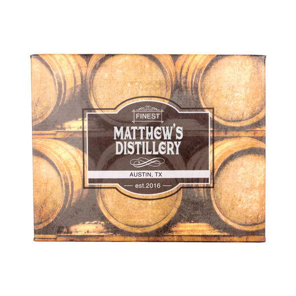 Personalized Whiskey Barrel Canvas