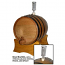 10 Liter Wine or Beer Barrel with Airlock System