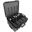 Wine Cruzer 8 Pack Pro Wine Suitcase With Wheels