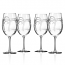 Palm Tree Large Wine Glasses (set of 4)