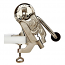 Cyklop Wine Opener Uncorking Machine, Nickel Plated