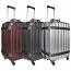 VinGardeValise Grande 05 Rolling Wine Luggage for Airplane Travel