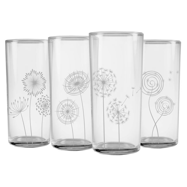 Secret Garden Highball Glass Set