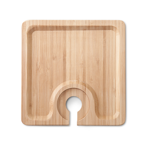 Snack Bamboo Appetizer Plate
