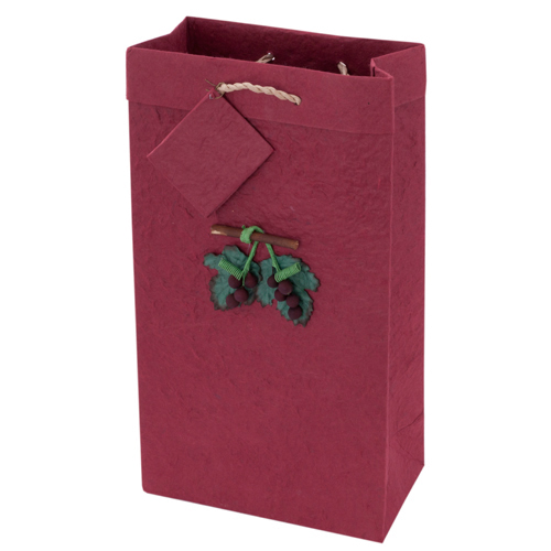 2-Bottle Crush Wine Bag