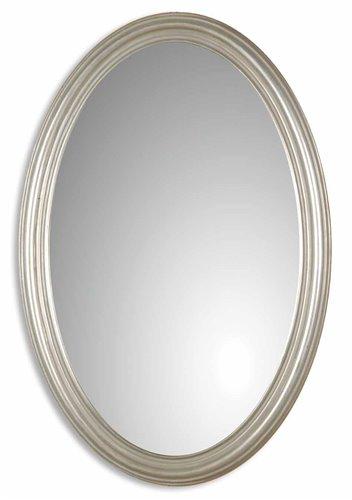 Uttermost Franklin Oval Silver Mirror