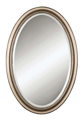Uttermost Petite Manhattan Champagne Silver Mirror