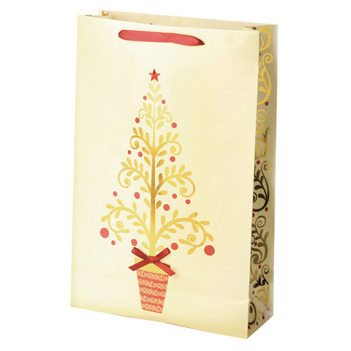 2-Bottle Golden Tree Wine Bag
